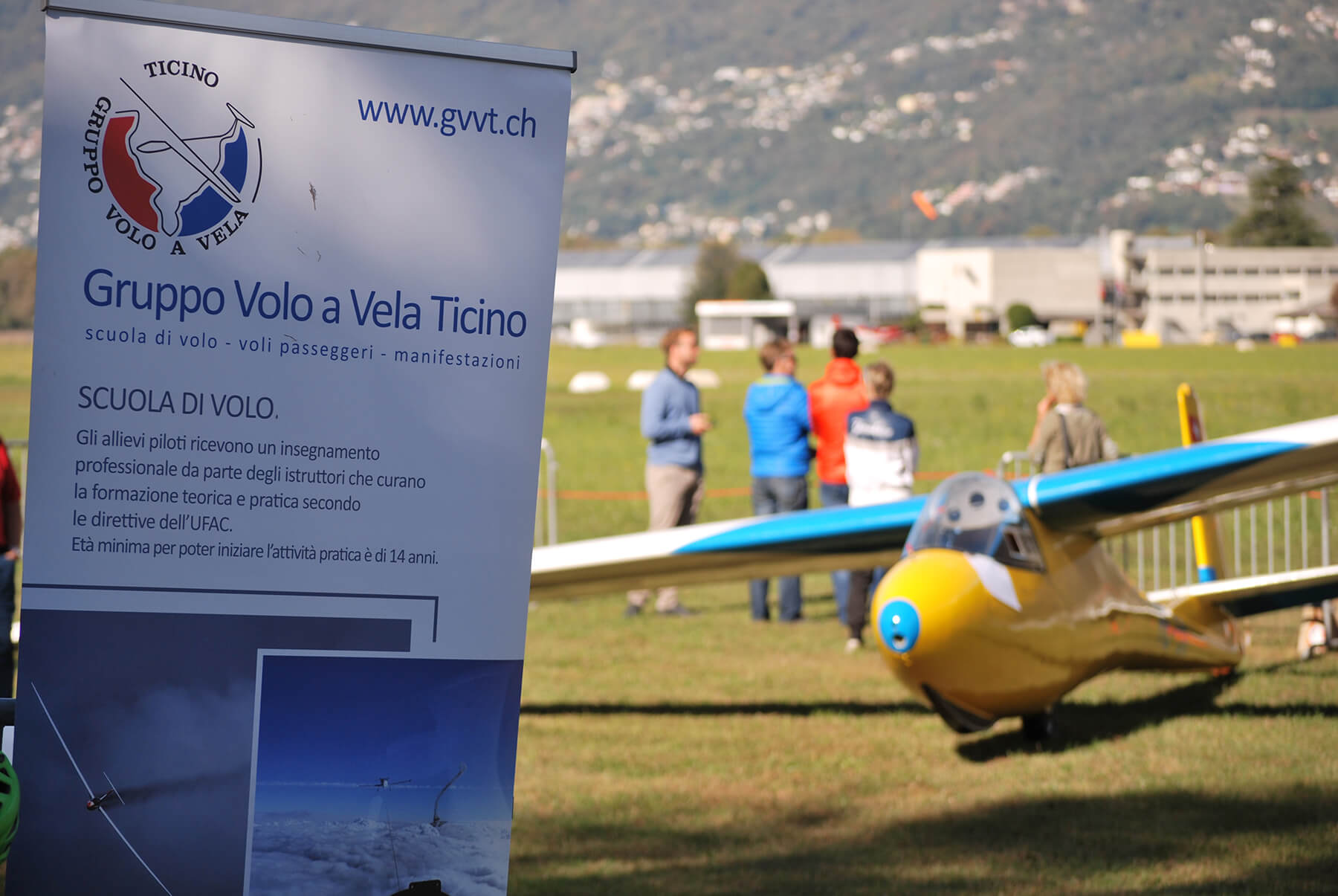 Area scuola di volo