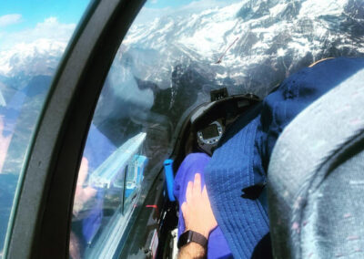 Un volo Padre e Figlio, foto di Claudio Lazzarino